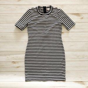Aritzia Sunday Best Striped Miller Dress